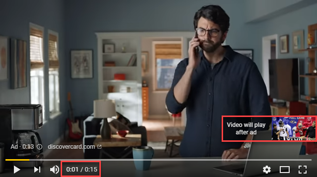 Unskippable Youtube ads